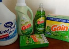 No Buy: Laundry Products