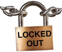 locked-out