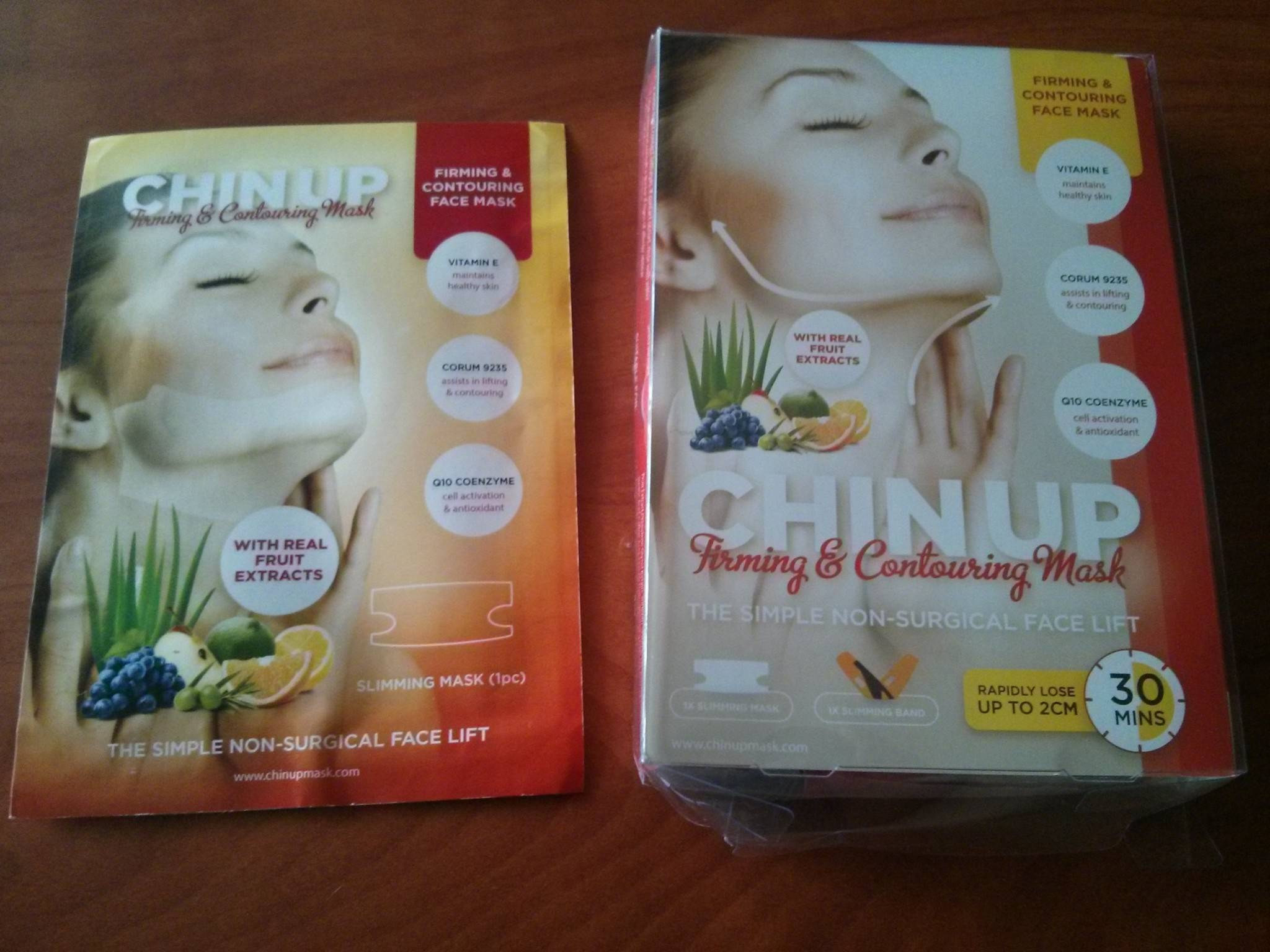 Chin Up Mask Review (Product Review) and Giveaway!