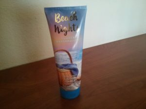 beach nights body cream