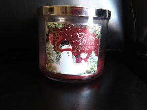 candle: Tis the season