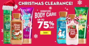 Bath and Body works sale