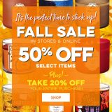 Bath And Body Works Fall 2018 Sale