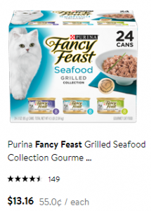 cat food 55 cents
